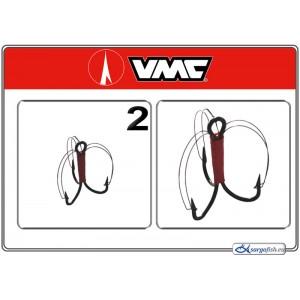 Āķi VMC Treble GRASSFREE BN - 2