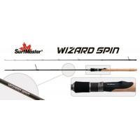 Спиннинг Surf Master WIZARD Spin 244 TX-30 (Секций:2, длина:2.44м, тест:2.8 - 10.5 гр.)