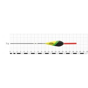 Поплавок STREAM 023 (бальса, 3 г, 19,0 см, уп. 10 шт.)