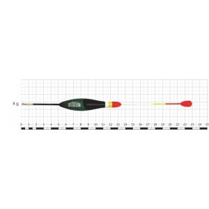 Поплавок STREAM 028 (бальса, 4 г, 23,0 см, уп. 10 шт.)