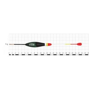 Поплавок STREAM 028 (бальса, 5 г, 23,0 см, уп. 10 шт.)