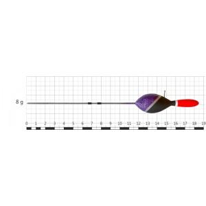 Поплавок STREAM 045 (бальса, 8 г, 18,5 см, уп. 10 шт.)
