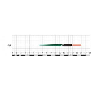 Поплавок STREAM 059 (бальса, 3 г, 16,0 см, уп. 10 шт.)