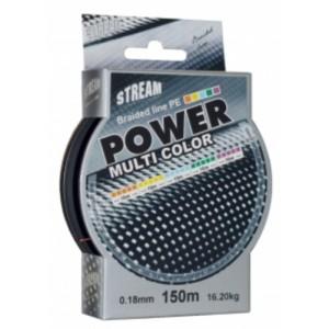 Pītā aukla STREAM Power multicolor - 0.10