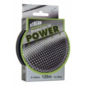 Леска плетеная Stream POWER g (0.100мм. / 125м. тест:6.00 кг.. цвет: зеленый)