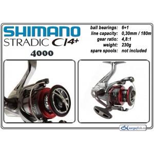 Катушка SHIMANO «Stradic CI4+» - 4000