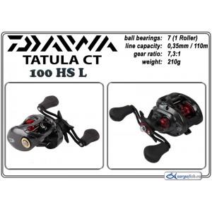 Катушка DAIWA «Tatula» CT - 100HS L