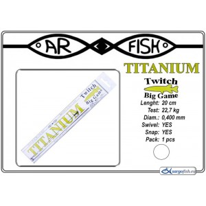 Pavadiņa AR FISH Titanium BIG Game 0.400 - 20