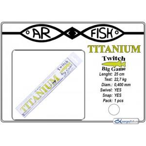 Pavadiņa AR FISH Titanium BIG Game 0.400 - 25