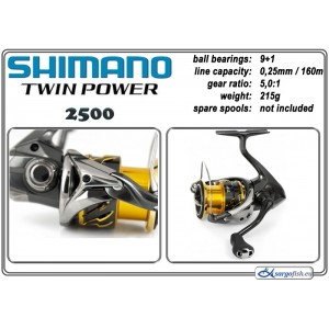Spole SHIMANO Twin POWER - 2500
