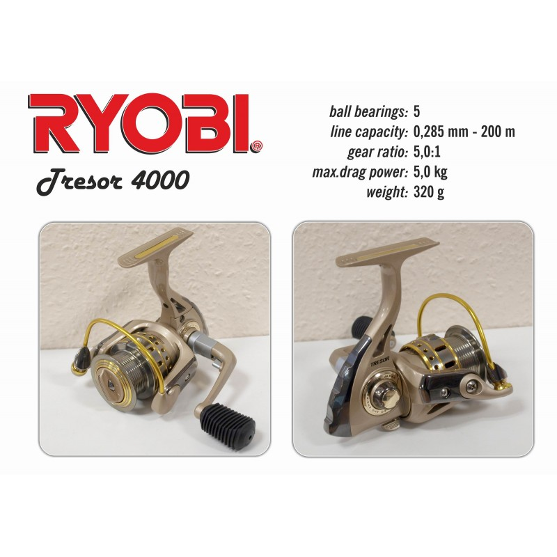 Spole RYOBI Tresor - 4000