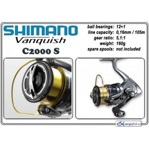 Spole SHIMANO Vanquish - C2000 SFA