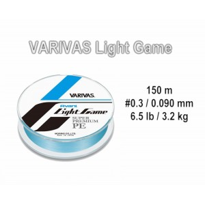 Pītā aukla VARIVAS Avani LIGHT Game PE - 0.3