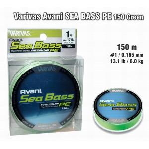 Pītā aukla VARIVAS Sea BASS PE - 1.0