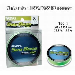 Pītā aukla VARIVAS Sea BASS PE - 2.0