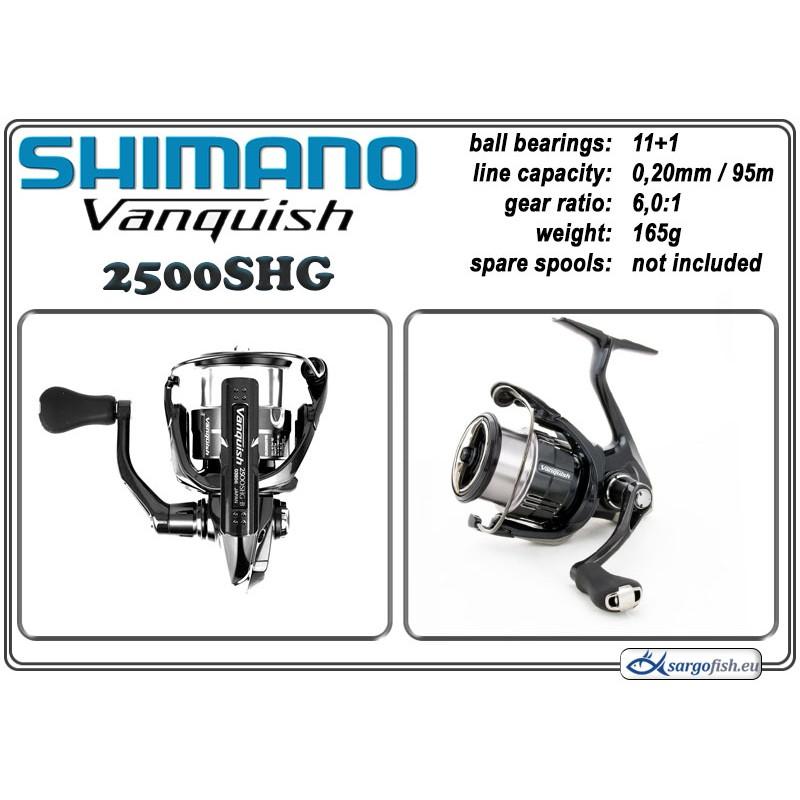 Spole SHIMANO VANQUISH - 2500SHG