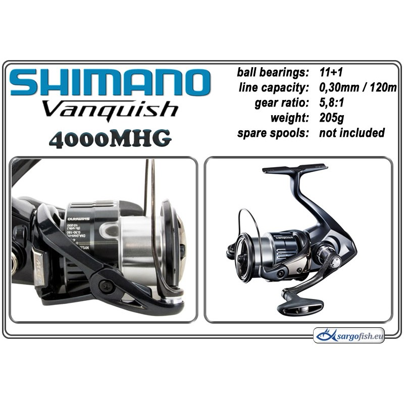 Spole SHIMANO VANQUISH - 4000MHG
