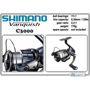 Spole SHIMANO VANQUISH - C3000