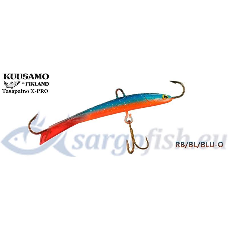 Balansieris KUUSAMO Tasapaino X-PRO 60 - RB/BL/BLU-O