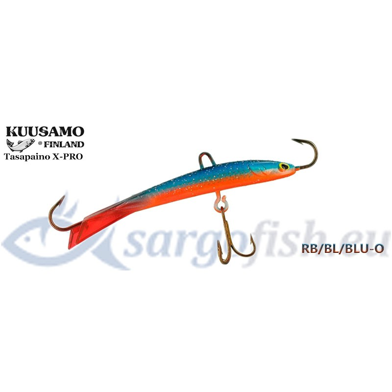 Balansieris KUUSAMO Tasapaino X-PRO 75 - RB/BL/BLU-O