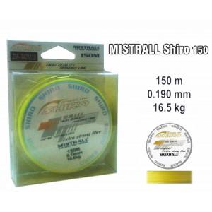 Леска плетеная Mistrall SHIRO y (0.19мм. / 150м. тест:16.50 кг.. цвет: желтый)